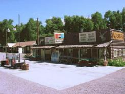 store, cabin, RV park, camp, store, pie, cafe